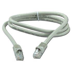 Cable típico para conexiones ethernet.
