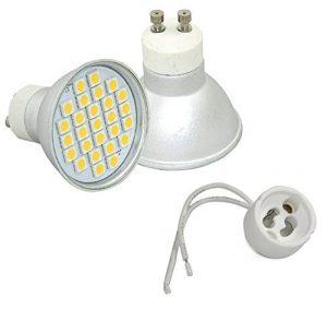 Casquillo y LED GU-10