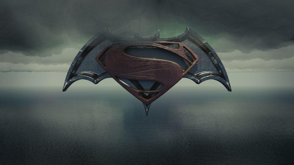 3D Batman Vs Superman