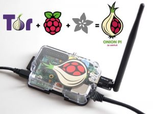 Raspberry + Tor = Onion Pi