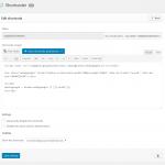 Shortcoder pluging para Wordpress
